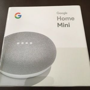 Google Home Mini Chalk NWT